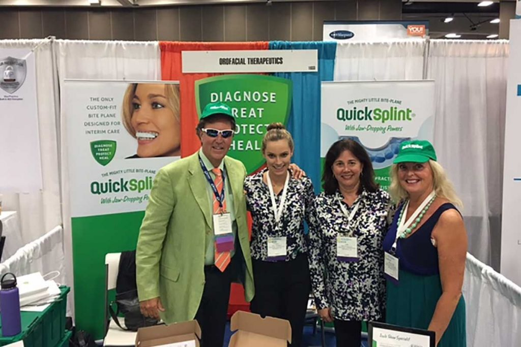 Dr. Peter and Kathy Nordland, with Ann McCulloch and Orofacial Therapeutics team