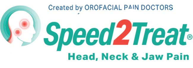 Speet2Treat brand for indivuals needing help with for Head, Neck & Jaw Pain